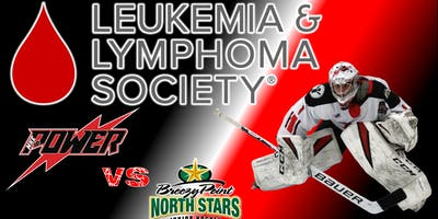 LLSWI Charity Fundraiser: Power Vs Breezy Point North Stars