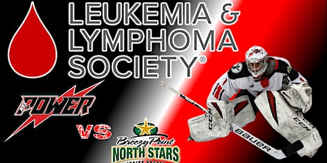 LLSWI Charity Fundraiser: Power Vs Breezy Point North Stars tickets