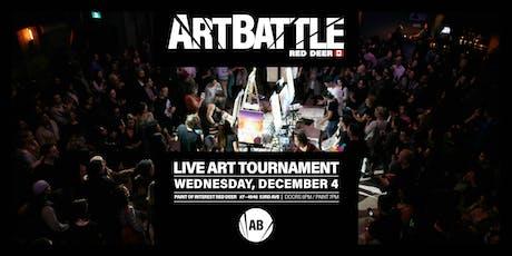 Art Battle Red Deer - December 4, 2019 tickets