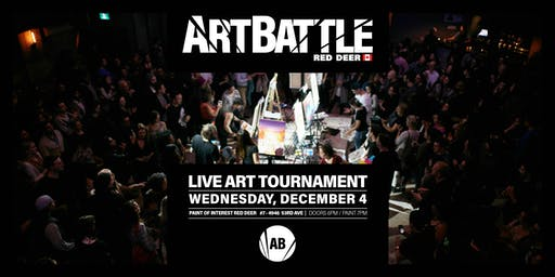 Art Battle Red Deer - December 4, 2019