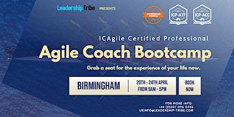 Agile Coach Bootcamp (ICP-ATF & ICP-ACC) | Birmingham - April 2020 tickets