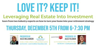 Love it? Leverage It! A Homeowner's Guide to Real Estate Investment