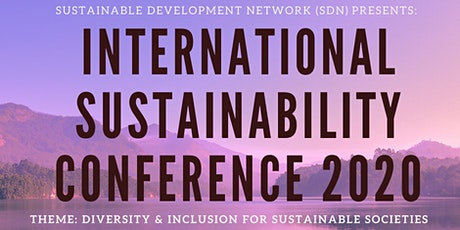 Sustainability Conference for Future Sustainable Societies 2020 tickets