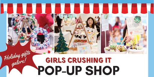 Girls Crushing It Winter Pop-up Shop