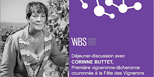 WBS Lausanne - Déjeuner-discussion avec Corinne Buttet