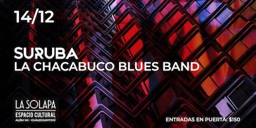 Suruba & La Chacabuco Blues Band en @LaSolapa // Gualeguaychú