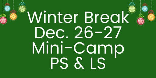 Palm Valley School Dec. 26-27 Mini-Camp