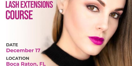 Lash Extensions Class - Boca Raton, FL