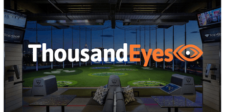 ThousandEyes Top Golf at AWS re:Invent tickets