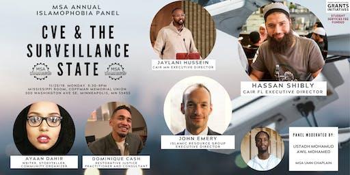 Islamophobia Panel: CVE and The Surveillance State