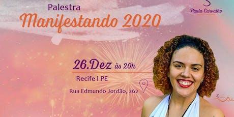 Palestra Manifestando 2020 ingressos