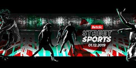 Betclic Street Sports bilhetes