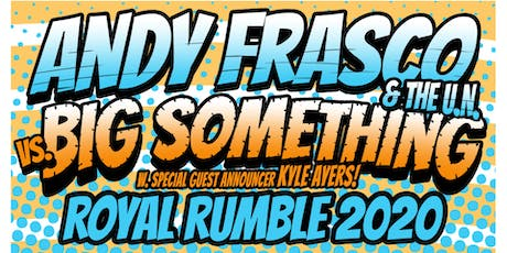 Andy Frasco & The U.N. vs. Big Something at 1904 Music Hall tickets