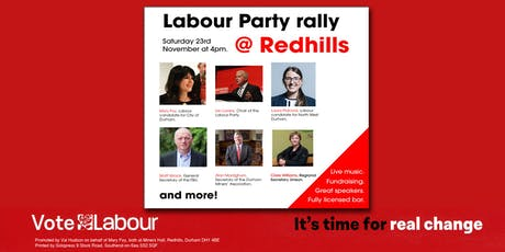 City of Durham Labour Party Rally tickets