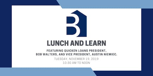Lunch and Learn with Bob Walters