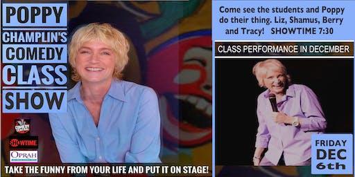 Poppy's Comedy Class Show