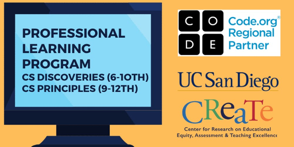 Ucsd Summer Session 2020.Code Org 2020 21 Professional Learning Program