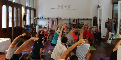 Free Monday Night Yoga in Martin Place tickets