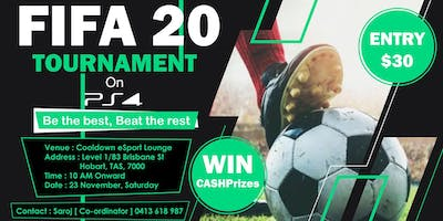 Fifa20 Tournament on PS4 | Hobart
