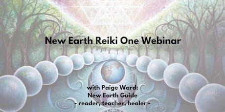 New Earth Reiki One Webinar tickets