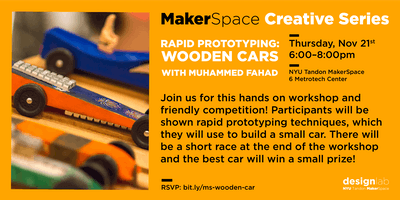 Rapid Prototyping: Wooden Cars
