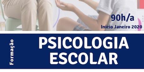 Formação em Psicologia Escolar T3 tickets