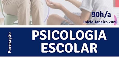 Formação em Psicologia Escolar T3 ingressos