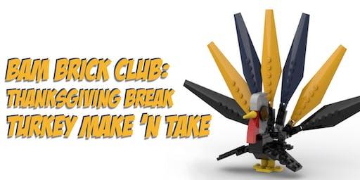 LEGO Turkey Make 'n Take (Anyone Can Join)
