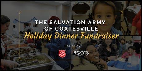 Salvation Army Holiday Dinner Fundraiser tickets