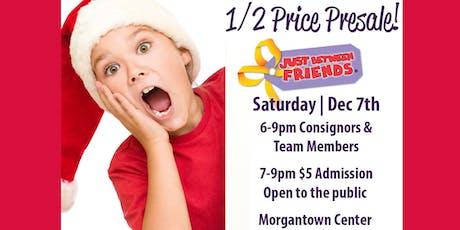 JBF Morgantown Half-Price Presale tickets