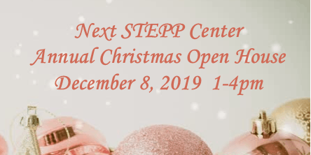 Next STEPP Christmas Open House 2019