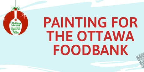Painting for the Ottawa Food Bank tickets