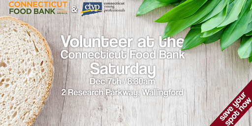 Volunteer at the Connecticut Food Bank
