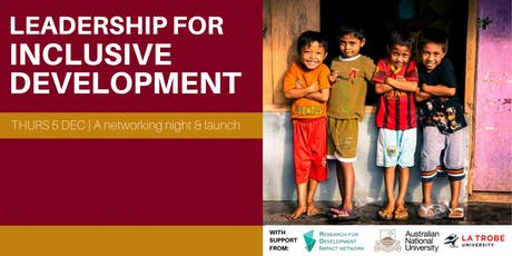 Leadership for Inclusive Development tickets