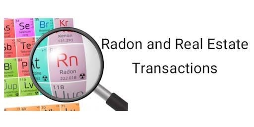 Radon and Real Estate Transactions