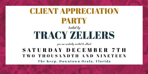 Tracy's Client Appreciation Party