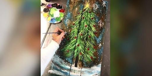 Christmas Tree! La Plata, Greene Turtle with Artist Katie Detrich!