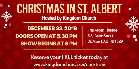 Christmas in St. Albert tickets