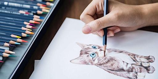 Festive Pet Caricature