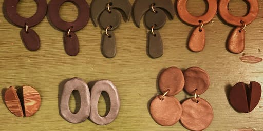 Polymer Clay Earring Gift Workshop