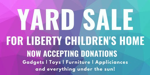 South Key Inc Yard Sale for Charity