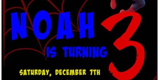 Noah's Turning 3!!