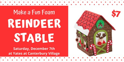 Holiday Craft for Kids: Reindeer Stable