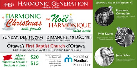 A Harmonic Christmas with Friends / Un Noël harmonique entre amis tickets