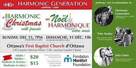 A Harmonic Christmas with Friends / Un Noël harmonique entre amis billets
