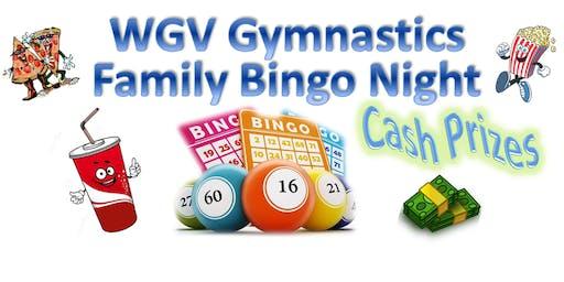 WGV Gymnastics  Family Bingo Night