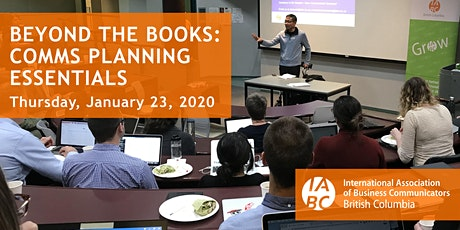 Beyond the books: comm planning essentials tickets