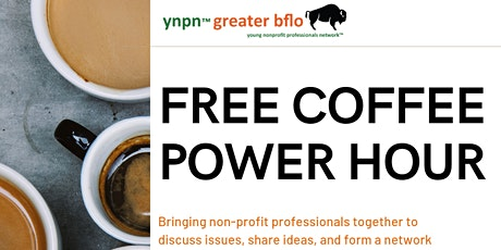 YNPN April Coffee Hour PLUS tickets