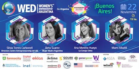 Buenos Aires: Día de la mujer emprendedora WED (Women's Entrepreneurship Day Argentina)  entradas