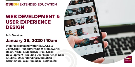 Info Session: Web Development & User Experience Design | CSUDH tickets